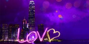 valentines day in hongkong